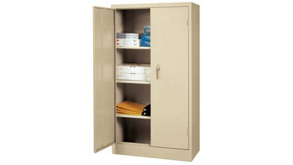 "Storage Cabinets Sandusky Lee 30""W x 15""D x 66""H Space Mizer Cabinet"