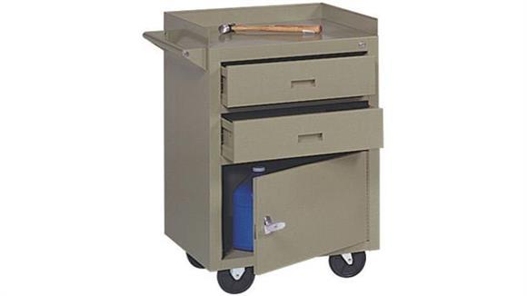 "Storage Cabinets Sandusky Lee 23""W x 22""D x 34""H  Mobile Maintenance Bench"