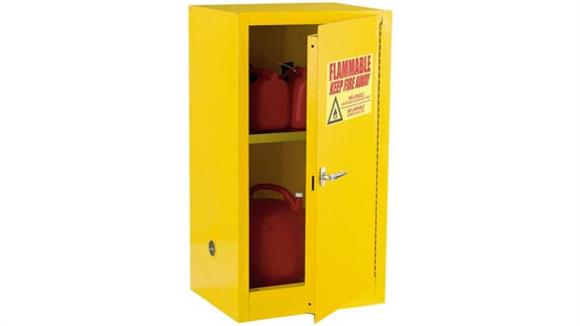 """Storage Cabinets Sandusky Lee 23"""" W x 18"""" D x 35""""H Compact Flammable Safety Cabinet"""