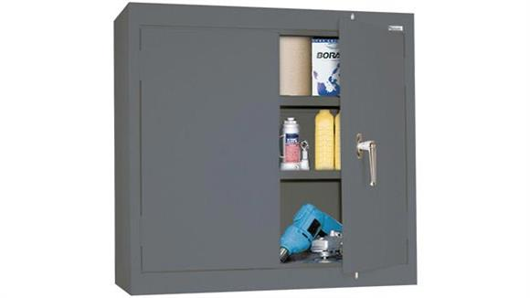 "Storage Cabinets Sandusky Lee 30""W x 12""D x 30""H Solid Door Wall Cabinet"
