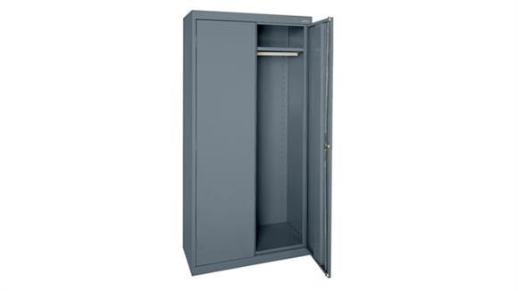 "Storage Cabinets Sandusky Lee 36""W x 24""D x 72""H Wardrobe Cabinet"