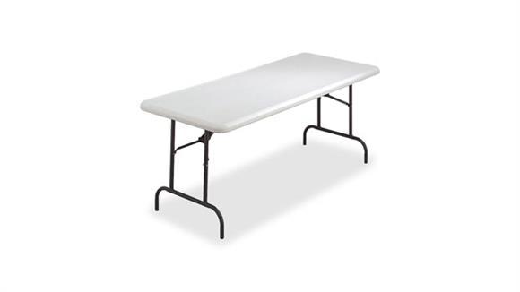 "Folding Tables Lorell 72"" x 30"" Ultra Lite Folding Table"