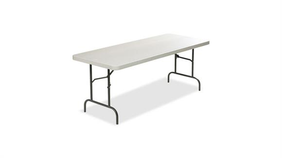 "Folding Tables Lorell 96"" x 30"" Ultra Lite Banquet Table"