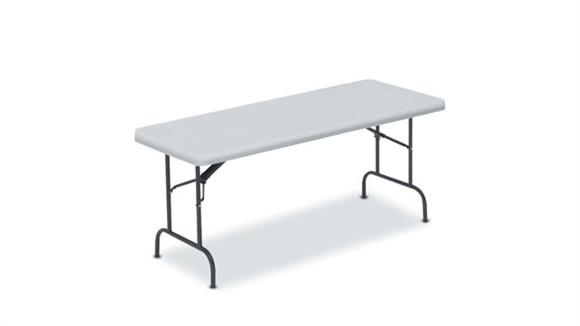"Folding Tables Lorell 72"" x 30"" Ultra Lite Banquet Table"