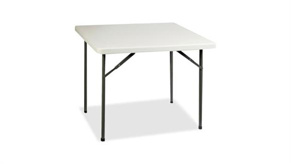 "Folding Tables Lorell 36"" Square Ultra Lite Banquet Table"