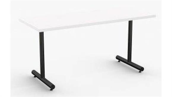 "Training Tables Special T 48"" x 24"" Training and Task Table, C-Legs"