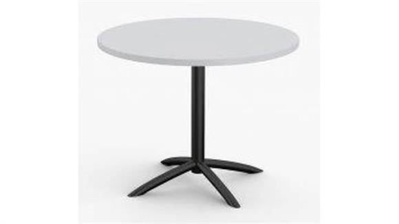 "Cafeteria Tables Special T 36"" Breakroom and Hospitality Round Table"