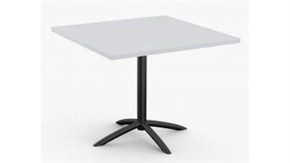 """Cafeteria Tables Special T 36"""" x 36"""" Breakroom and Hospitality Table"""
