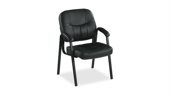 Side & Guest Chairs Lorell Leather Guest Chair
