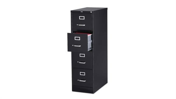 File Cabinets Vertical Lorell 4 Drawer Letter Size Vertical File