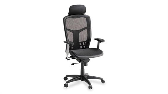 Office Chairs Lorell High Back Mesh Chair