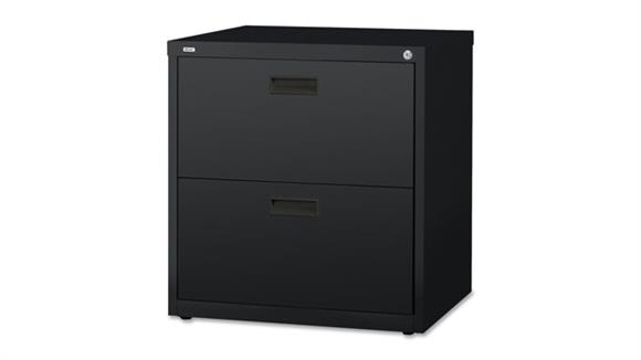 "File Cabinets Lateral Lorell 30""W  2 Drawer Lateral File"