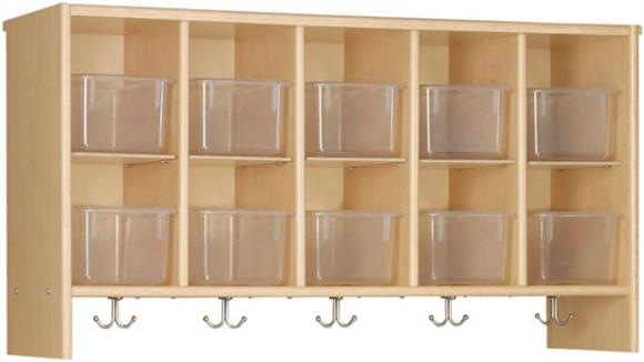 Storage Cubes & Cubbies Stevens Industries Wall Cubbie with Trays