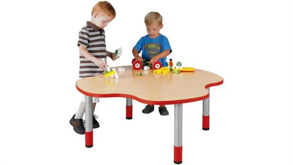 "Activity Tables Stevens Industries 14"" High Four Student My Place Activity Table"