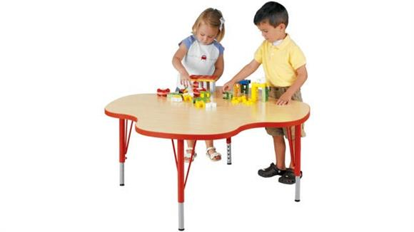 Activity Tables Stevens Industries Four Student Adjustable Height My Place Activity Table
