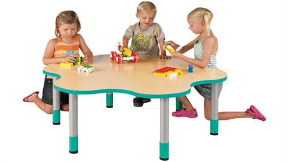 "Activity Tables Stevens Industries 14"" High Six Student My Place Activity Table"