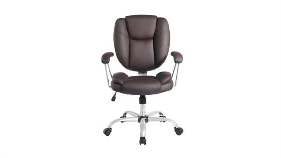 Office Chairs Techni Mobili Mid Back Chair with Arms