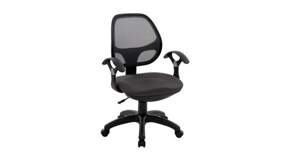 Office Chairs Techni Mobili Mesh Back Task Chair