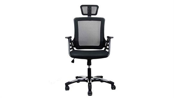 Office Chairs Techni Mobili Executive High Back Mesh Chair