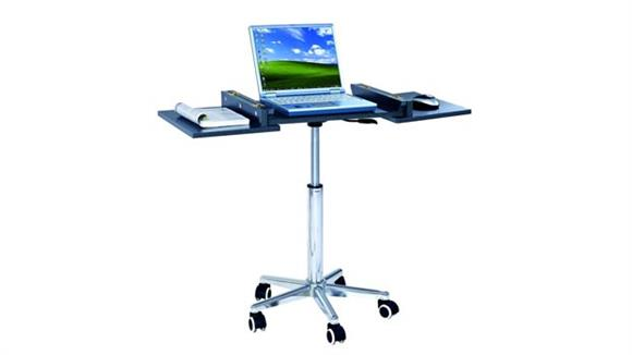 Computer Desks Techni Mobili Foldable Laptop Cart