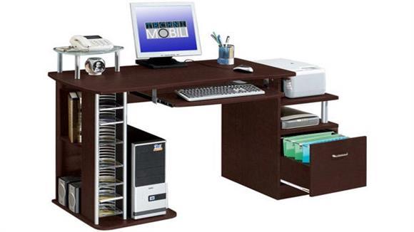 "Computer Desks Techni Mobili 60""W Computer Desk"
