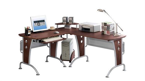L Shaped Desks Techni Mobili L Shaped Computer Desk