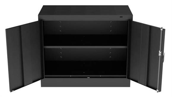 """Storage Cabinets Tennsco 30""""H Standard Storage Cabinet"""