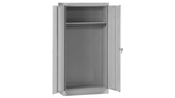 "Storage Cabinets Tennsco 72""H x 18""D Standard Welded Wardrobe Cabinet"