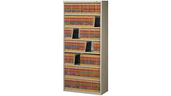 File Cabinets Lateral Tennsco Seven Shelf Filing Unit