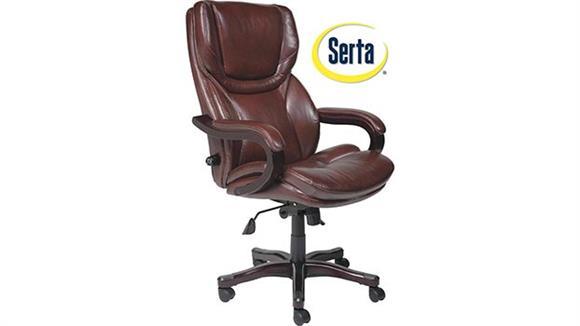 Big & Tall Serta Seating Big and Tall Executive Leather Chair