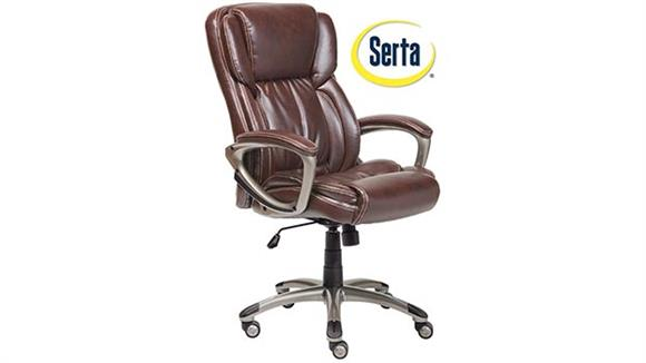Office Chairs Serta Seating Leather Executive Office Chair
