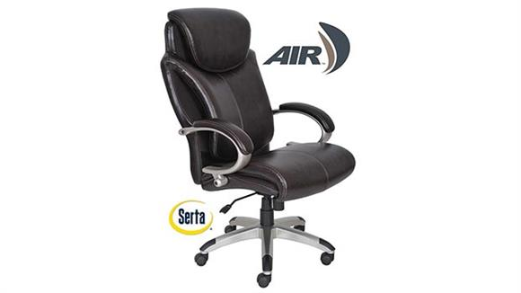 Big & Tall Serta Seating Big and Tall Leather Executive Chair