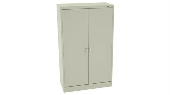 "Storage Cabinets Tennsco 60"" x 18""D Standard Storage Cabinet with Double Handle"