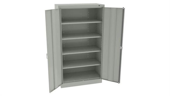 """Storage Cabinets Tennsco 66""""H x 36""""W Standard Storage Cabinet with Double Handle"""