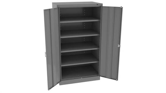 """Storage Cabinets Tennsco 66""""H x 24""""W Standard Storage Cabinet with Double Handle"""