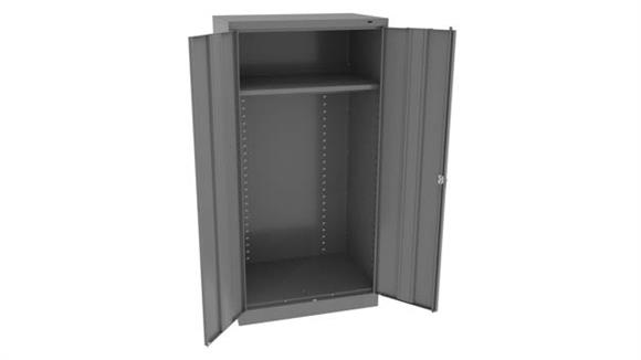 "Storage Cabinets Tennsco 72""H x 18""D Standard Welded Wardrobe Cabinet"