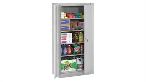"""Storage Cabinets Tennsco 72""""H x 18""""D Standard Storage Cabinet"""