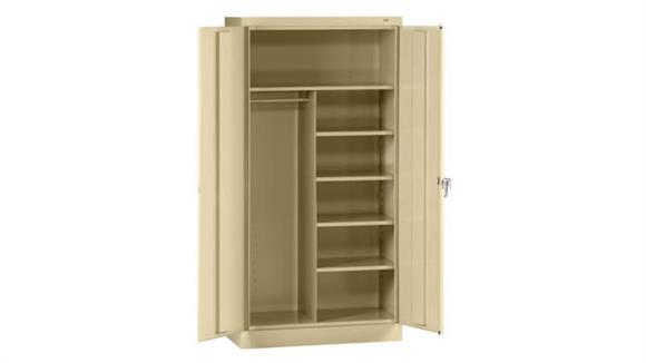 "Storage Cabinets Tennsco 72""H x 24""D Standard Combination Cabinet"