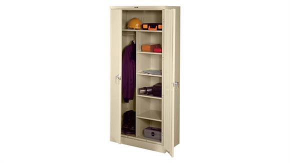 """Storage Cabinets Tennsco 78""""H x 18""""D Deluxe Combination Cabinet"""