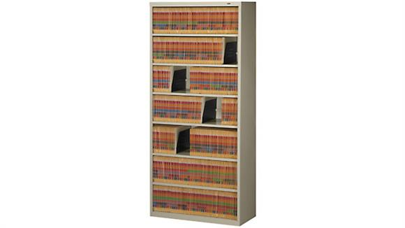 File Cabinets Lateral Tennsco Seven Shelf Filing Unit