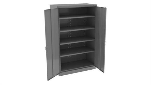 "Storage Cabinets Tennsco 78""H x 18""D Jumbo Storage Cabinet"