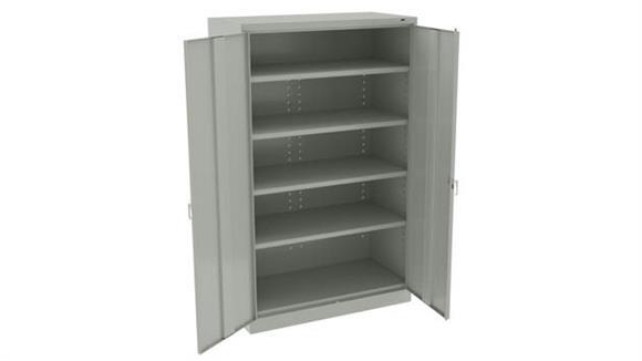 "Storage Cabinets Tennsco 78""H x 24""D Jumbo Storage Cabinet"