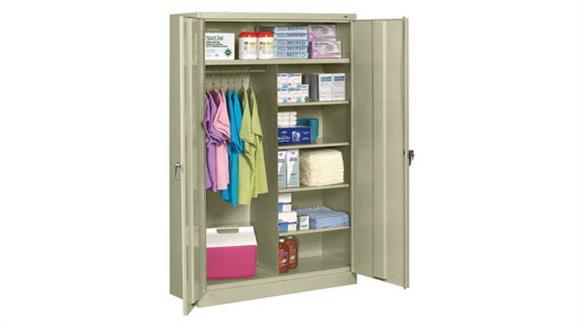 "Storage Cabinets Tennsco 78""H x 24""D Jumbo Combination Cabinet"