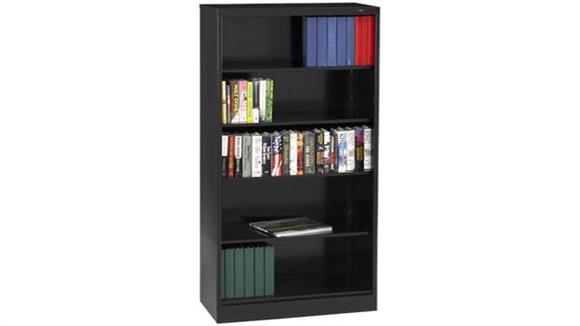 "Bookcases Tennsco 72""H x 18""D Heavy Duty Steel Bookcase"