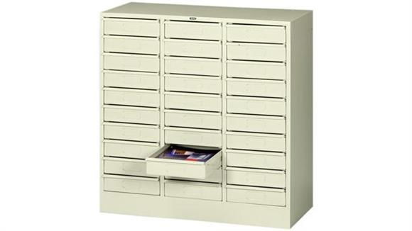 Magazine & Literature Storage Tennsco 30 Drawer Legal Size Organizer