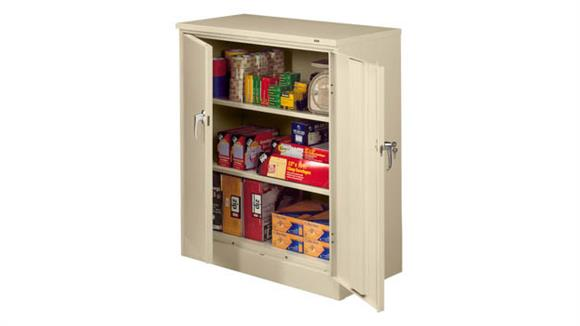 "Storage Cabinets Tennsco 42""H x 18""D Deluxe Storage Cabinet"