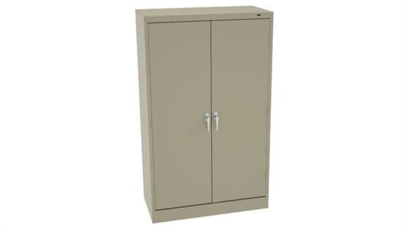 """Storage Cabinets Tennsco 60"""" x 18""""D Standard Storage Cabinet with Double Handle"""