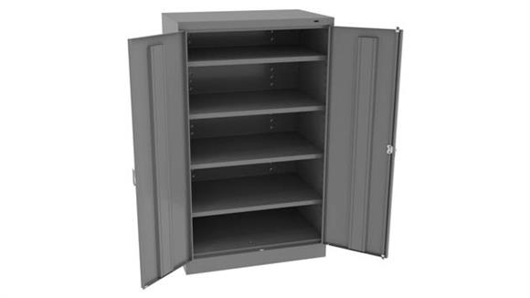 """Storage Cabinets Tennsco 60"""" x 24""""D Standard Storage Cabinet with Double Handle"""