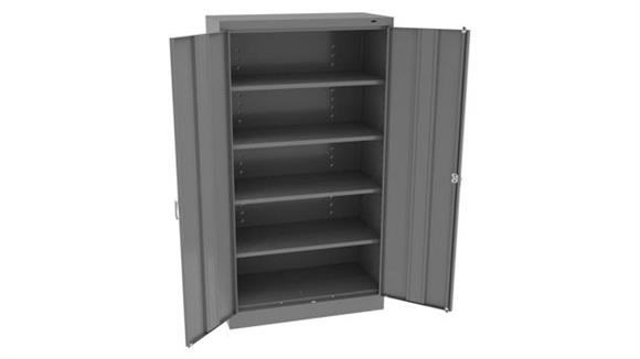"Storage Cabinets Tennsco 66""H x 36""W Standard Storage Cabinet with Double Handle"