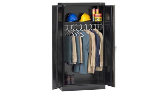 "Storage Cabinets Tennsco 72""H x 24""D Standard Welded Wardrobe Cabinet"